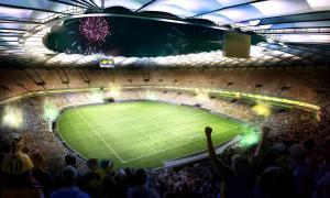 Coupe du monde Brésil 2014 écrans 4K