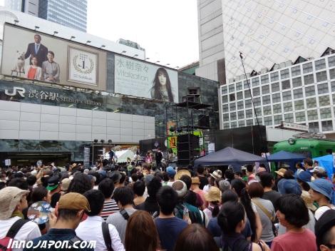 Concert Shibuya pour vote
