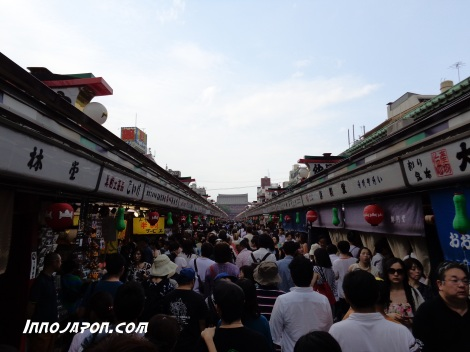 Il y a un peu de monde Asakusa