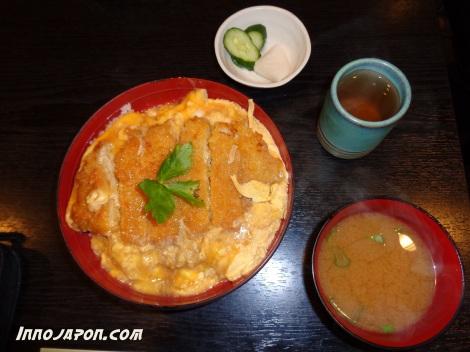 Poulet omelette riz et miso - Copie - Copie