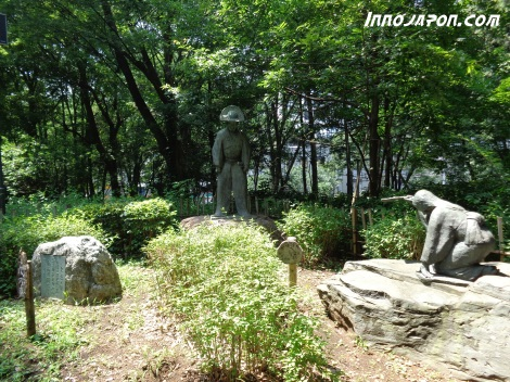 Statues Parc Shinjuku