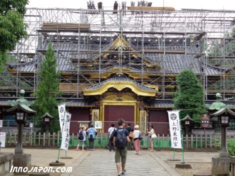 Temple rénovation Ueno
