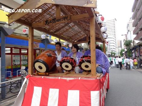 Matsuri tambours