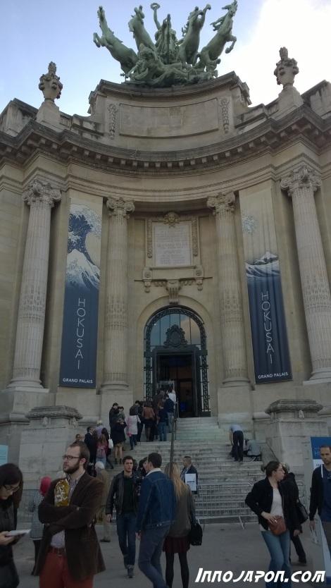 Grand Palais Hokusai