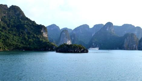 La fameuse Baie d'Halong