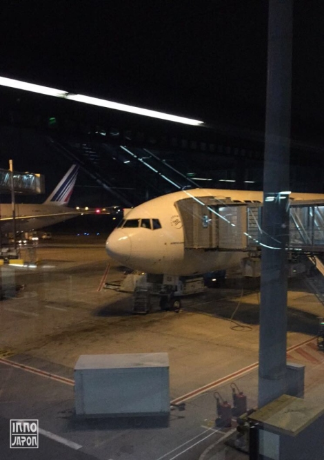 Départ pour Tokyo