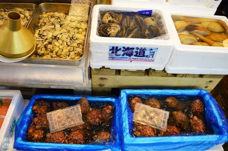 Tsukiji coquillages 1