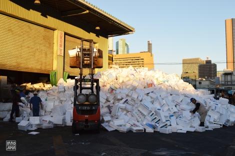 Tsukiji déchets
