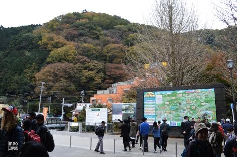Arrivée Takao